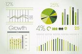 Zöld infographic