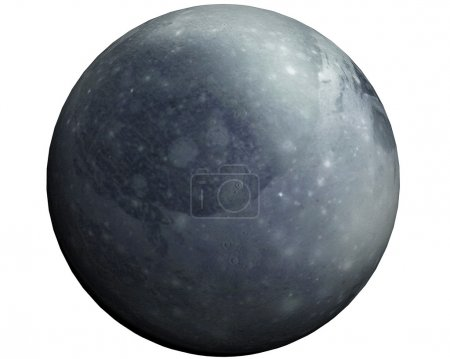 This nice 3D picture shows the planet pluto
