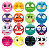 Group of expression Funny vector and cartoon elements