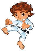 Baby Karate Player