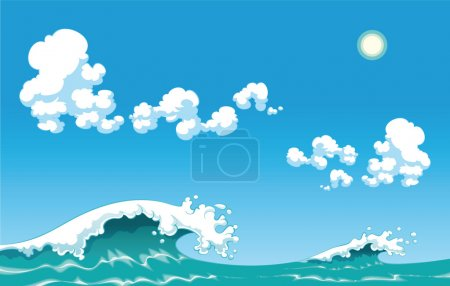 Summer wave.