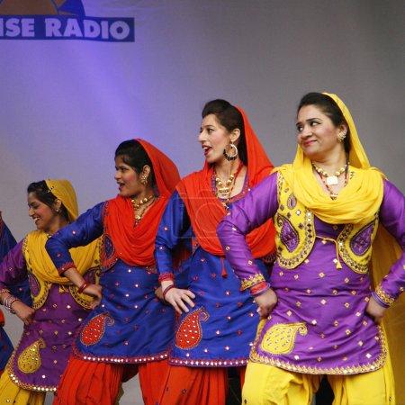 Performers at 2012 Visakhi Festival