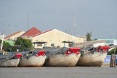 Big Eyed Boats of My Tho
