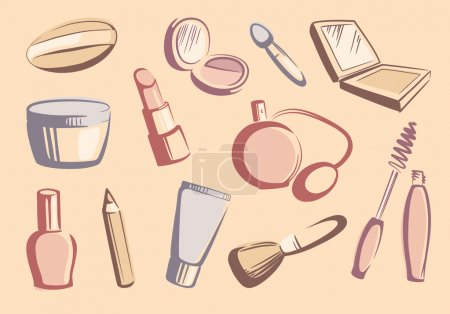 Cosmetics sketches