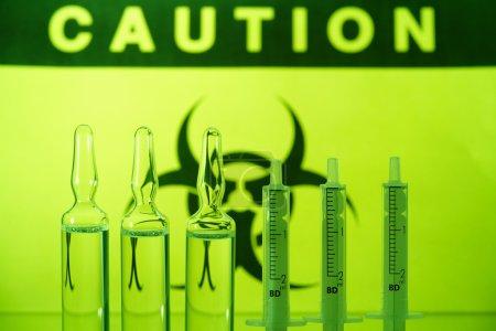 Biohazard and ampules