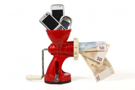 Recycle mobile phone, get money and help the environment