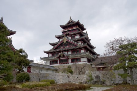 Main keep of Fushimi castle, Japan