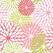 Seamless pattern with hand draw flowers floral illustration