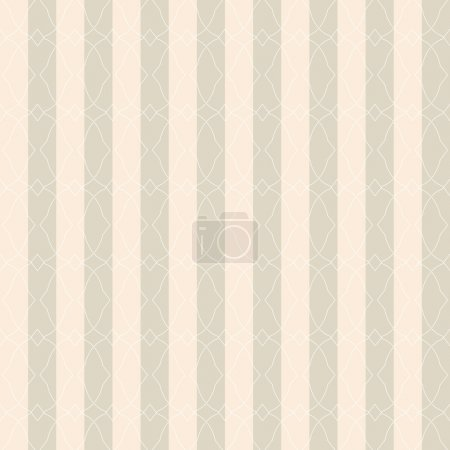 Illustration for Vector seamless abstract pattern. Template for design. - Royalty Free Image