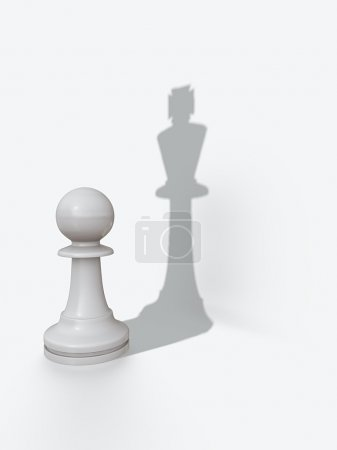 Pawns shadow