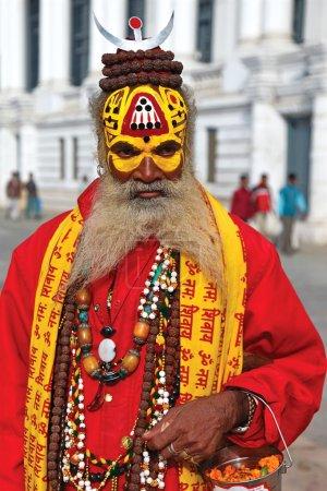 Nepalese sadhu