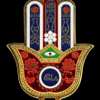 The hamsa is the popular defending amulet - the ha...