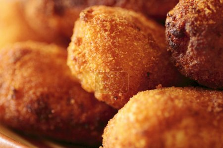 Typical Spanish cuisine dish chicken nuggets...