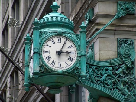 Old stylish clock