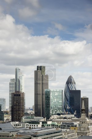 City of London, its financial district