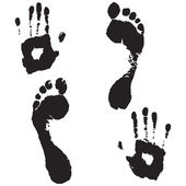 Hand and foot prints