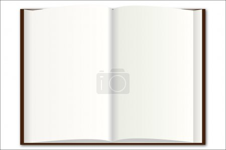 Illustration for Blank Book Illustration - Royalty Free Image