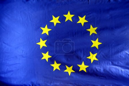 Photo for Flag from the EU - Royalty Free Image