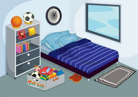 Illustration for Children room - Royalty Free Image