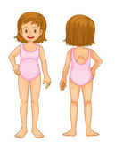 young girl body parts