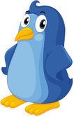 Comical penguin
