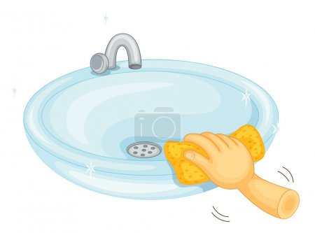 Cleaning basin