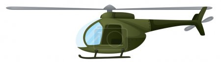 Illustration for Illustration of an isolated chopper - Royalty Free Image