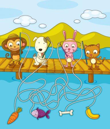 Fishing worksheet