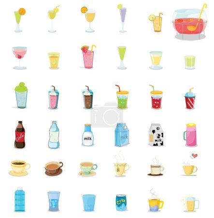 boissons mélangées