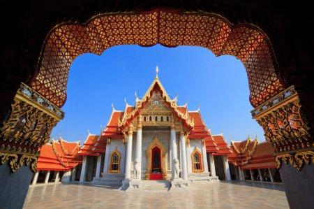 Photo for The Marble Temple(Wat Benchamabophit ), Bangkok, Thailand - Royalty Free Image