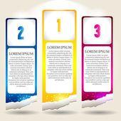 Set of Colorful Vector stickers for various options Business