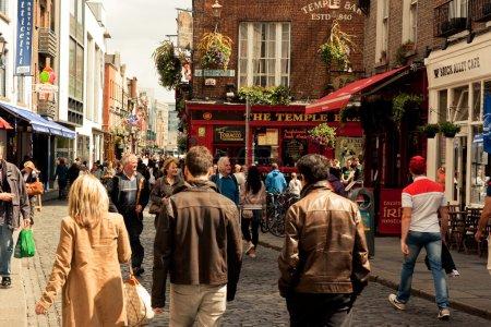 Photo pour Temple Bar. Dublin. Irlande . - image libre de droit