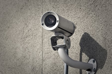 Photo pour Caméra de sécurité - image libre de droit