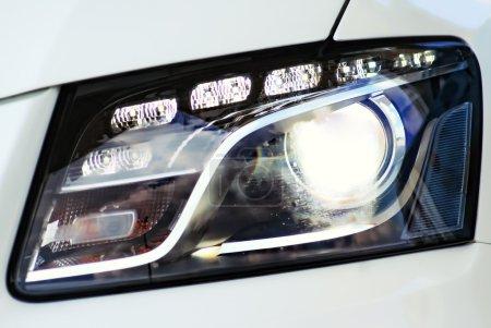 Headlight from Audi Q7