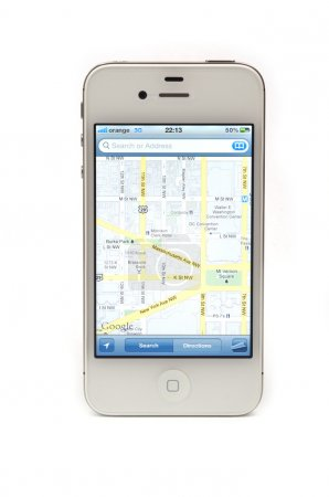 Navigate with iPhone 4S