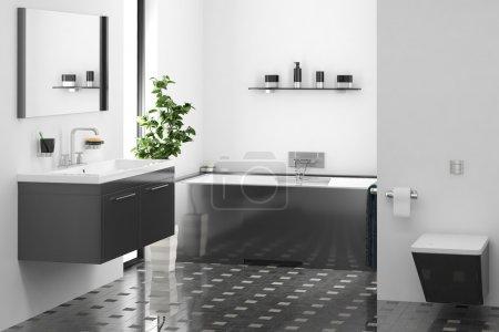 Photo pour Salle de bain moderne - image libre de droit