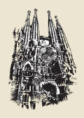 La Sagrada Familia sketch