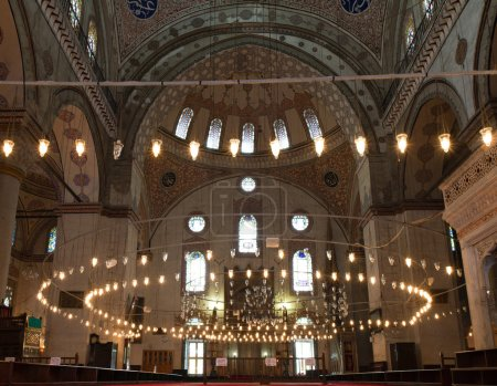 Interior of the Beyazit Mosque