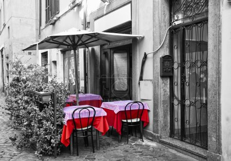 Restaurant Terrace on the street