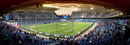 Vicente Calderon soccer stadium, Madrid
