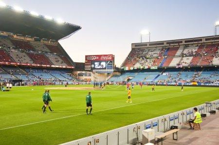 Vicente Calderon soccer stadium