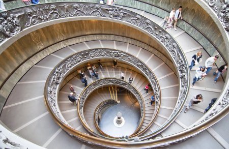 Stairs of the Vatican Museums