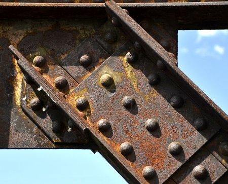 Photo pour Joints rivetés - image libre de droit