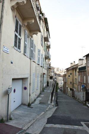 European Neighborhood Alley