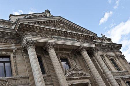 Brüsseler Börse vorn