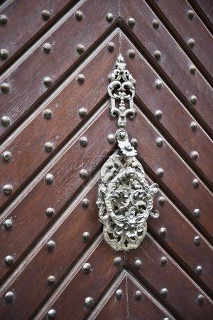 Wooden Sharp Pattern Door