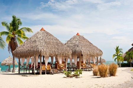 Massage Huts, Playa Blanca, Panama