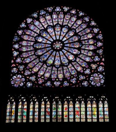 Ages, architecture, canopy, cathedral, christ, christendom, color, europe, faith, france, glass, gothic, history, holy, interior, mary, medieval, meditation, middle, notre-dame, paris, religion, relig