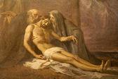 Milan - paint of Deposition from the cross - Saint Mark church