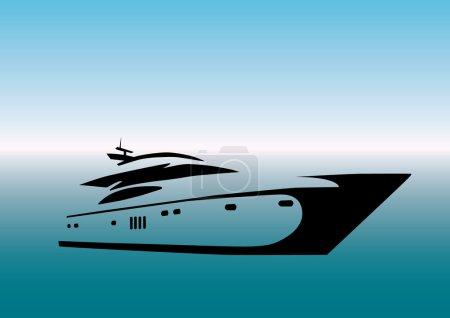 Stylized Yacht